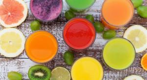 Wartość rynku soków w Polsce powoli rośnie. Perspektywy są obiecujące
