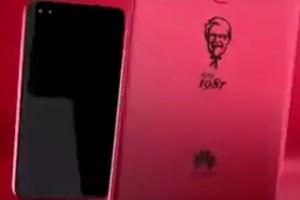 KFC we współpracy z  Huawei wprowadza specjalną edycję telefonu