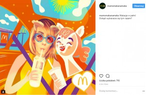 McDonald's chce promować się na Instagramie