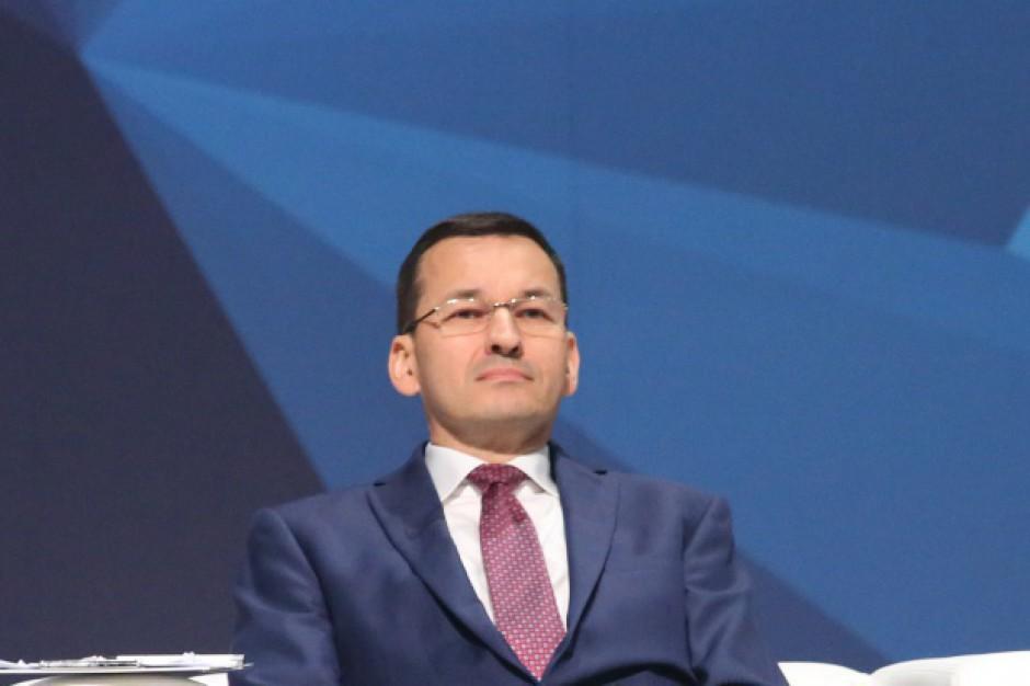 Morawiecki: ponad 100 mld dol. na inwestycje infrastrukturalne w 10 najbliższych latach