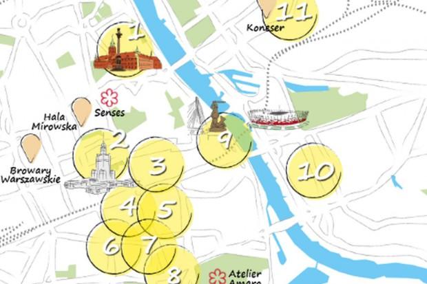 Kulinarna mapa Warszawy według Knight Frank