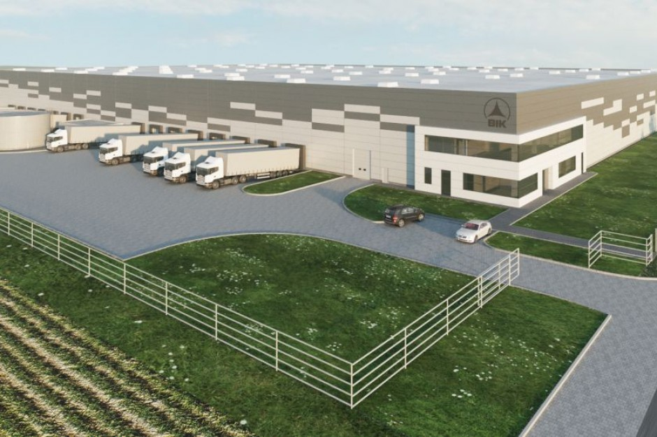 BIK SA z pozwoleniem na budowę Centrum Logistycznego Kraków III