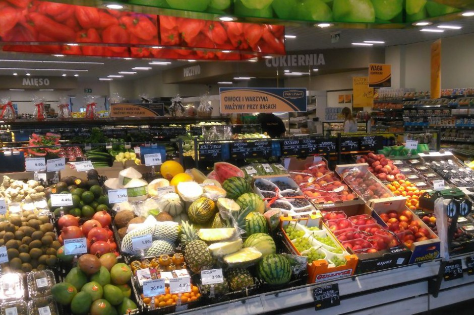 Piotr i Paweł z pierwszym supermarketem w Jeleniej Górze