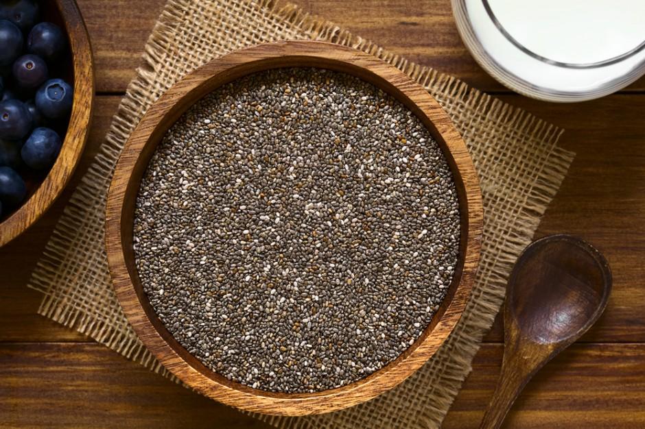 GIS: Jogurty i desery z nasionami chia nie mogą być sprzedawane