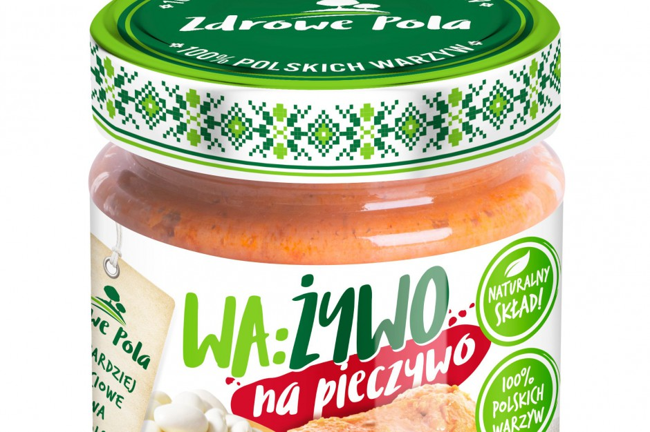 Zdrowe Pola wchodzą w segment past warzywnych z marką WA:ŻYWO
