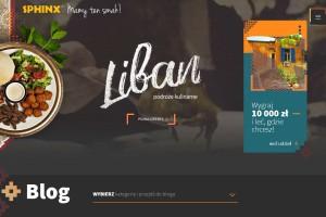 Sieć Sphinx rusza z blogiem kulinarno-podróżnicznym