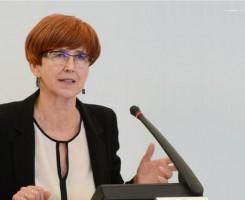 Rafalska: 2100 zł minimalnego wynagrodzenia to umiarkowana propozycja