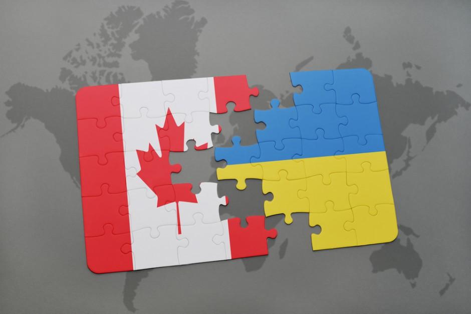 Umowa o wolnym handlu między Ukrainą i Kanadą weszła w życie