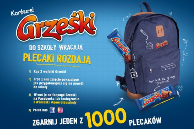 Grześki wracają do szkoły – nowa akcja marki Grześki