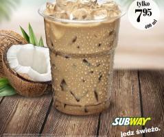 Subway z mrożoną kawą kokosową na lato