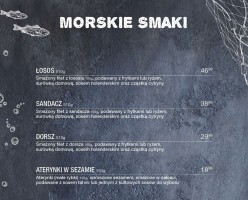 """""""Morskie Smaki"""" w restauracjach Sphinx"""