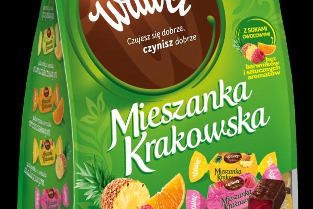 Wawel: Mieszanka Krakowska w nowych opakowaniach i w nowych smakach