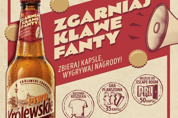 Piwo Królewskie Niefiltrowane w kampanii