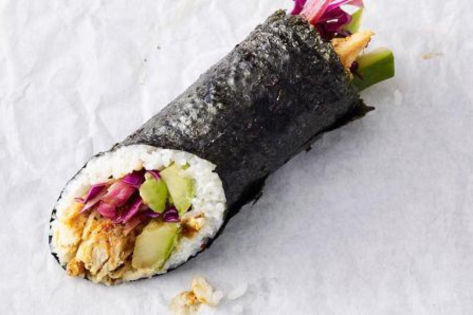 Starbucks sprzedaje sushi burrito