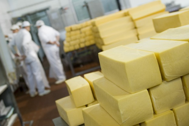 Prosperita branży mleczarskiej hamuje konsolidację