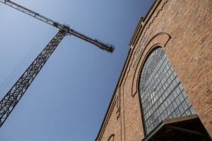 Muzeum Polskiej Wódki nabiera kształtów; trwają ostatnie prace budowlane