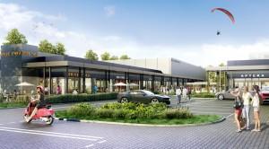 Rusza budowa parku handlowego Vis à Vis w Warszawie