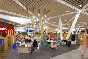 Centra handlowe służą już nie tylko do zakupów. Jedzenie to nowa moda (wideo)