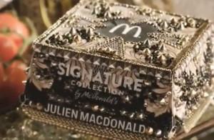 McDonald's ze znanym projektantem stworzył luksusowe pudełko Big Maca