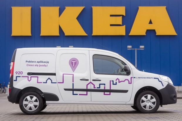 IKEA: Rusza pierwszy w Polsce carsharing samochodów dostawczych