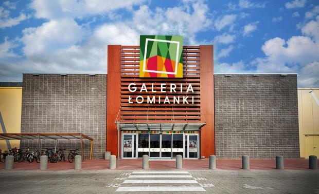 centrum handlowe w �omiankach zmienia nazwę i logo