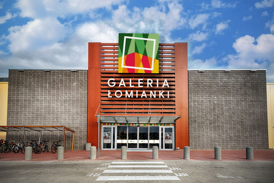 Centrum handlowe w Łomiankach zmienia nazwę i logo