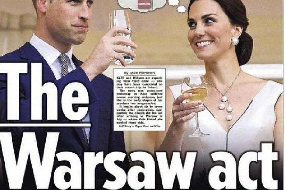 Detaliści w UK liczą na szaleństwo zakupów w związku z ciążą Kate