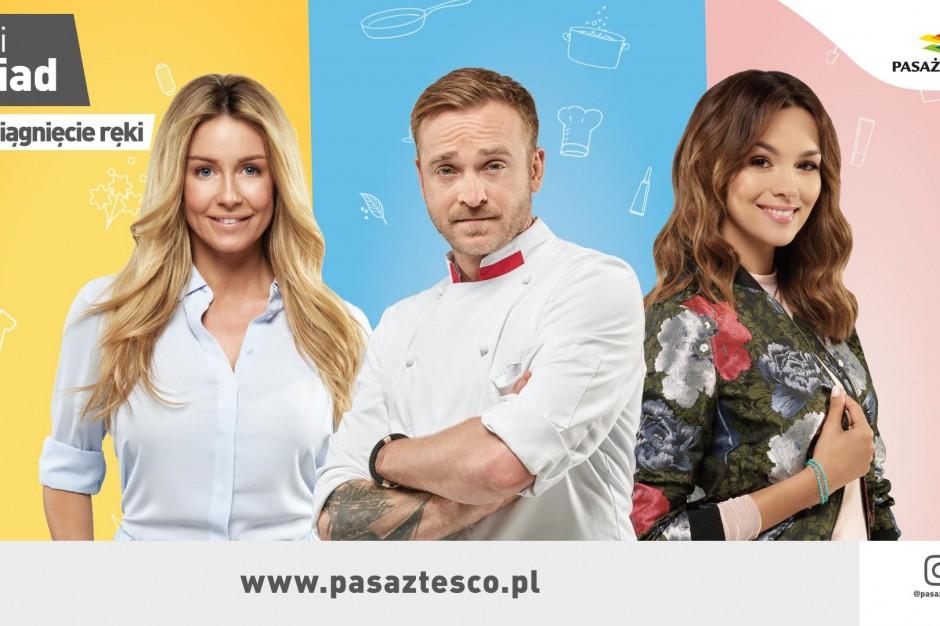 Paulina Krupińska, Małgorzata Rozenek-Majdan i Mateusz Gessler ambasadorami Pasażu Tesco