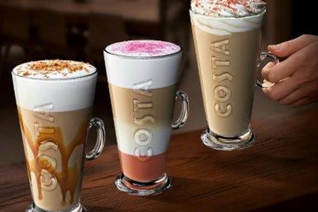 Jesienne smaki Costa Coffee: słony karmel, biała czekolada z różą i kokos
