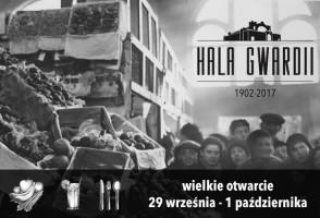 Hala Gwardii startuje w ostatni weekend września
