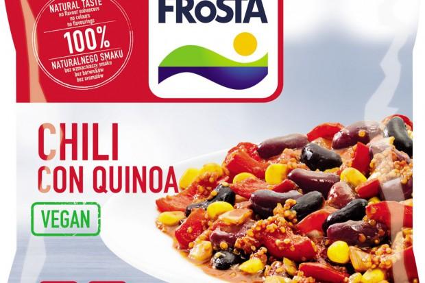 Wegańskie chili con quinoa - nowość od Frosty