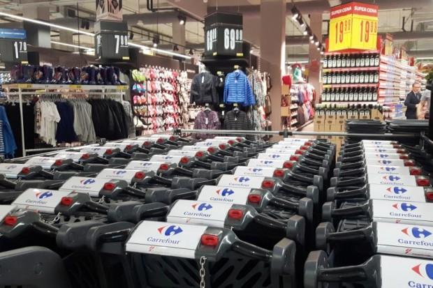 Carrefour otwiera hipermarket w Warszawie. Nowe koncepty, usługa Scan&Go (zdjęcia)