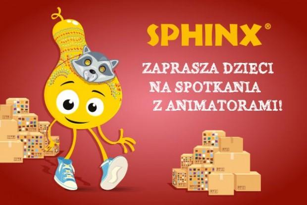 Sphinx z animacjami dla dzieci w weekendy