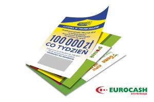 """Loteria """"sięgnij po 100 000 złotych"""" od Eurocash Dystrybucja"""