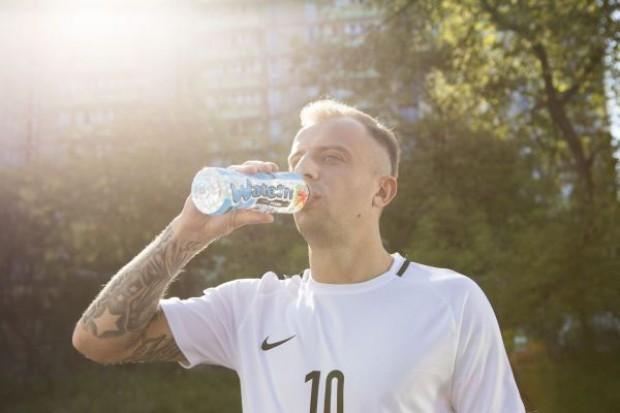 Kamil Grosicki w reklamie Kubuś Waterrr Sport