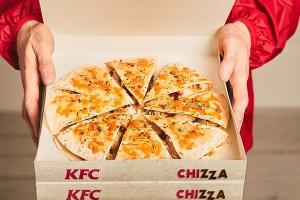 KFC wprowadza Chizzę