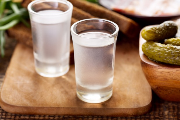 Produkcja wódki wzrosła w sierpniu