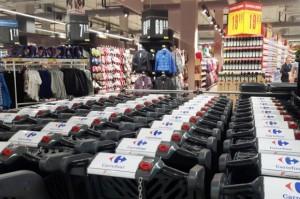 Carrefour w Galerii Północnej z wyposażeniem od Modern-Expo