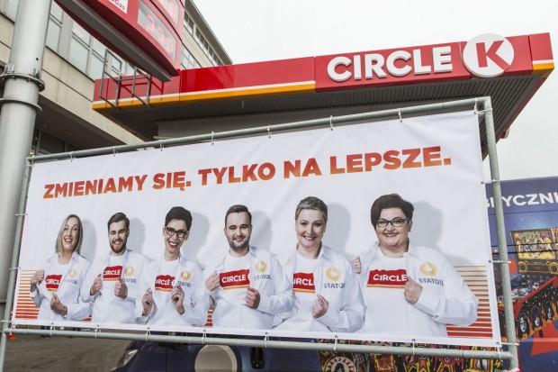 Rebranding Statoil na Circle: Ponad 100 stacji zmieniło nazwę