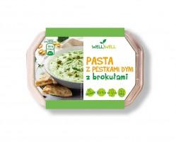 Nowość od Well Well – wegańska pasta z pestkami dyni z brokułami