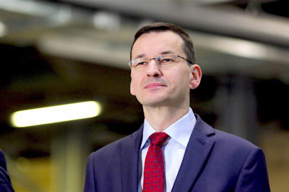 Morawiecki: częściowe ograniczenie handlu w niedziele nie odbije się na rozwoju gospodarczym
