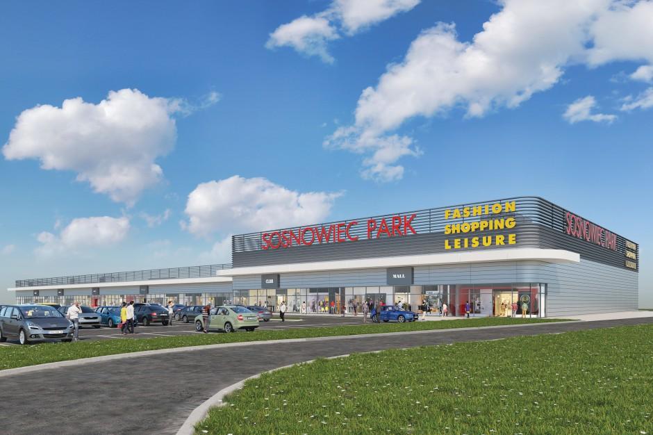 Przy Auchan w Sosnowcu powstanie park handlowy