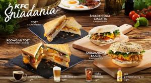 Restauracje KFC w Polsce wystartowały z ofertą śniadaniową