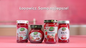 Otwórz się na to, co najlepsze z dżemami Łowicz - nowa kampania reklamowa marki