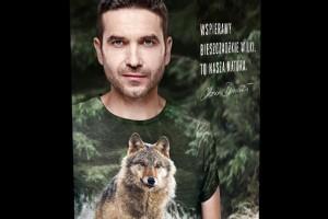 """Marka Ostoya kontynuuje współpracę z Marcinem Dorocińskim i program """"Ostoya dla wilków�"""