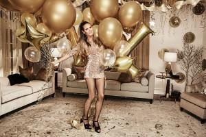 Heidi Klum zaprojektowała świąteczno-sylwestrową kolekcję odzieży dla Lidla