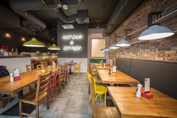 Sfinks otwiera swoją pierwszą restaurację Fabryka Pizzy