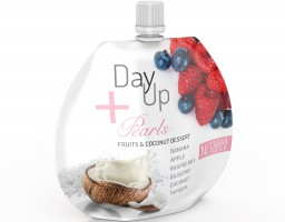 Marka DayUp wprowadza deser na bazie śmietanki kokosowej, musów owocowych oraz tapioki