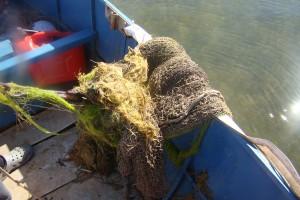Rybacy wyławiają zagubione sieci z Bałtyku