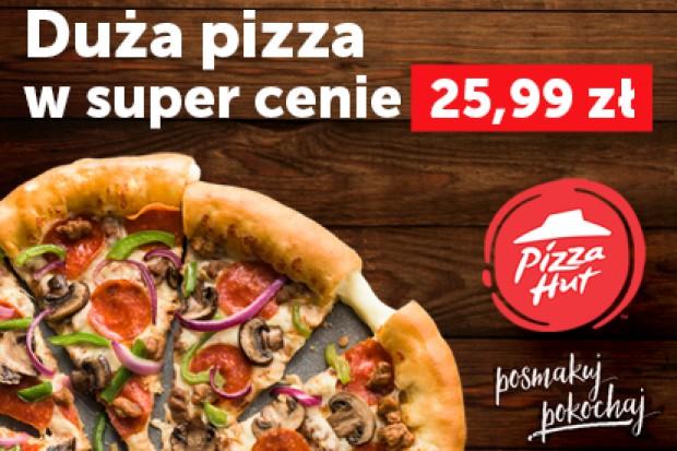 Promocyjna pizza z Pizza Hut w ofercie PizzaPortal.pl